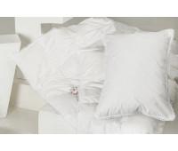 """Одеяло всесезонное (для детей до 3 лет) """"Пуховое Облако"""" 100х150, из белого гусиного пуха, кассетная технология"""