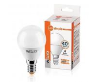 Лампа светодиодная 25S45GL4E14-S