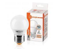 Лампа светодиодная 25S45GL4E27-S