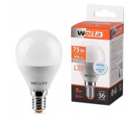 Лампа светодиодная 25S45GL8E14