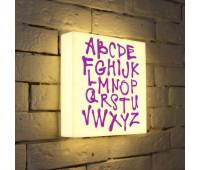 Лайтбокс Alphabet 25-25-d-003