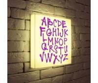 Лайтбокс Alphabet 35-35-d-003