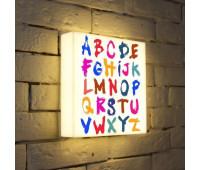 Лайтбокс Alphabet 25-25-d-004