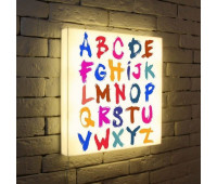 Лайтбокс Alphabet 45-45-d-004