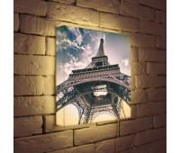 Лайтбокс Эйфелева башня 35-35-d-023