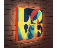 Лайтбокс LOVE 1 45-45-d-041
