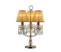 Интерьерная настольная лампа Murano 8192/P Gold