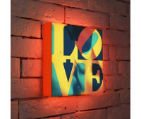 Лайтбокс LOVE 1 25-25-d-041