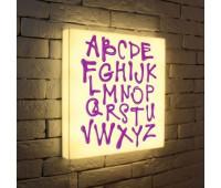 Лайтбокс Alphabet 45-45-d-003